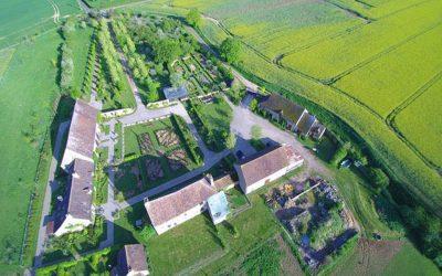 La création des jardins du Montperthuis